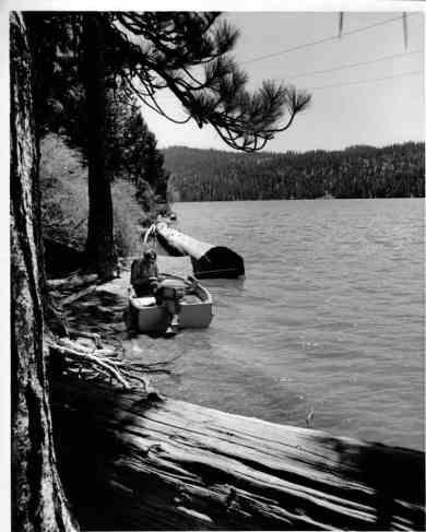 Don Sabin at Butt Lake