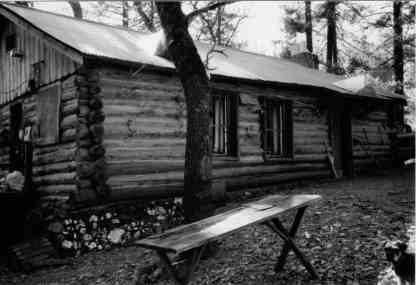Don's cabin decades ago