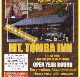 """Dinner With """"The Duke""""…Mt Tomba Inn"""