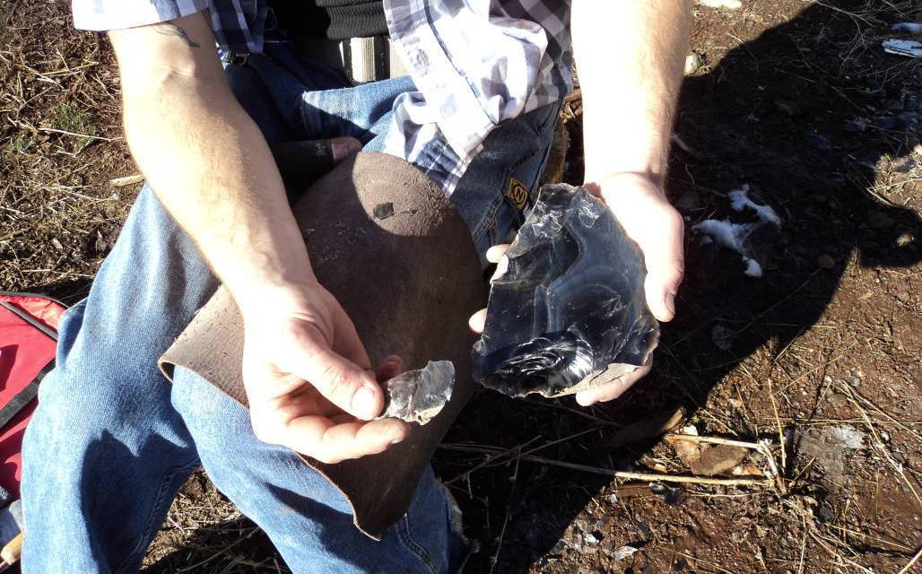 The Ancient Art of Making Knives with Obsidian