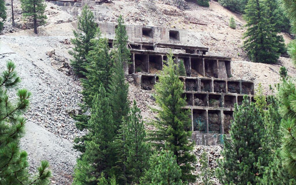 Engels MineRemains a Cultural Feature in Plumas County