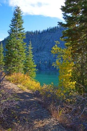 hidden mountain lake