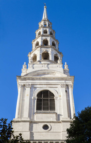 St. Brides Church in London