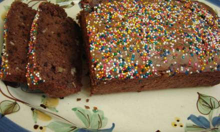 Ice Cream Loaf Cake