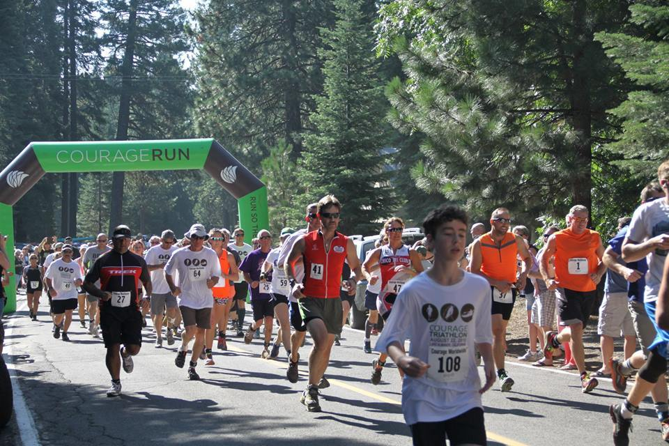 Courage Worldwide Triathlon Held Annually at Lake Almanor (Aug. 24, 2019)