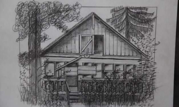 Carol Ross Sketch Artist and Diana Hackbarth Matching Birdhouse Builder