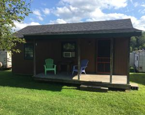 Cabin rentals at mountain view campground