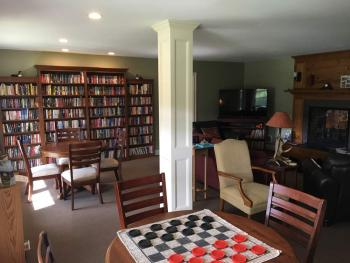 Campground game room