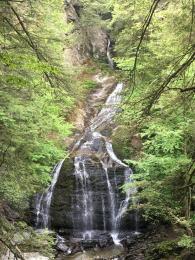 Moss Glen Falls Stowe Vermont