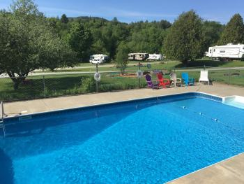 Pool Campground Vermont