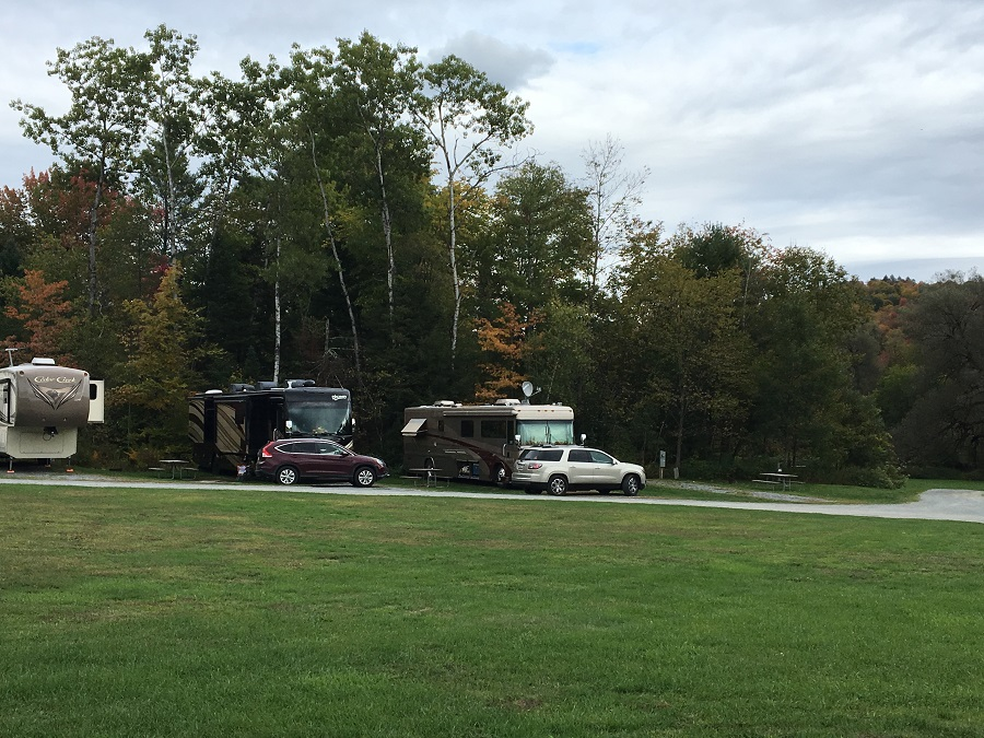RV campsites Morrisville, VT