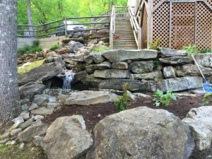 Patios, Fire pits, Water Features - Outdoor Living Spaces: