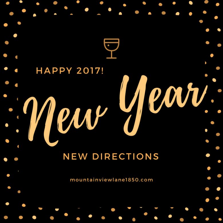 New Year, New Directions!