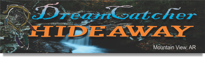 Dreamcatcher Hideaway Cabins in Mountain View Ar