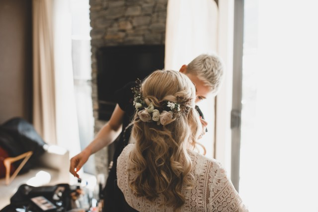 hair & make-up - mountain weddings nz - queenstown wedding