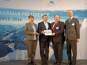 Convenzione delle Alpi, presidenza tedesca