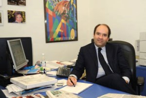 Alberto Faustini direttore Trentino Corriere delle Alpi