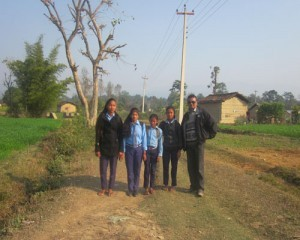 rajendra-is-with-our-children-during-school-way