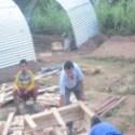 Rajendra-Nhisutu-and-HIMET-volunteer-are-making-zinc-slate-tents (1)
