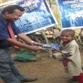 Rajendra is with child