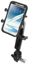 The RAM Touch Claw Mount is my favorite in the category of easily portable phone mounts