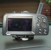 Old School Garmin GPS Car Mount