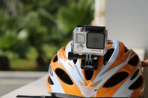 GoPro on a Helmet
