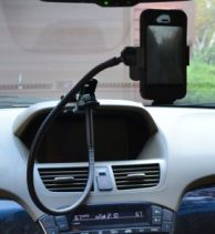 Apple iPhone in an Acura MDX