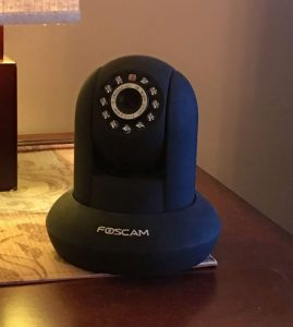 Foscam Pan and Tilt Camera