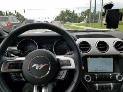 Phone and GPS Mounts for a Ford Mustang GT