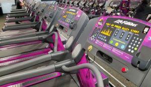 Planet Fitness treadmill