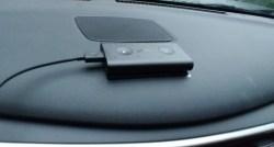 Echo Auto Mounted to Car Dash