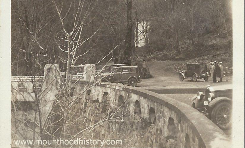 Multnomah Falls circa 1930