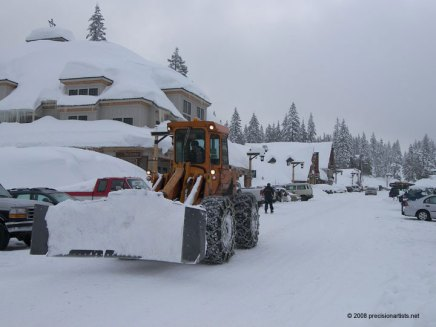 Mount Hood Snow – Government Camp, Oregon February 4, 2008