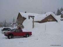 Mount Hood Snow – Government Camp, Oregon February 4, 2008