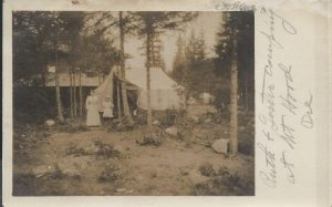 Campers at The Rhododendron Inn