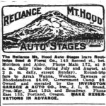 Reliance Mt Hood Stages