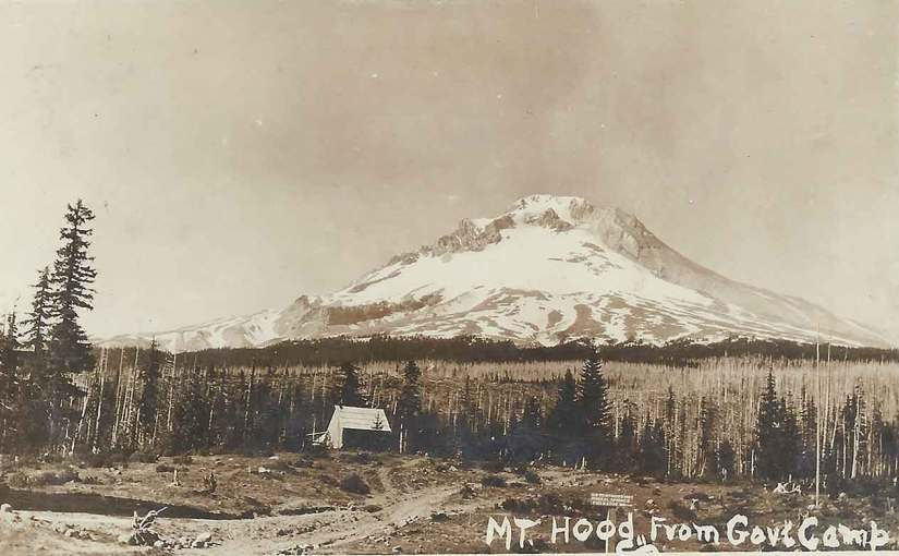 Government Camp Oregon circa 1900