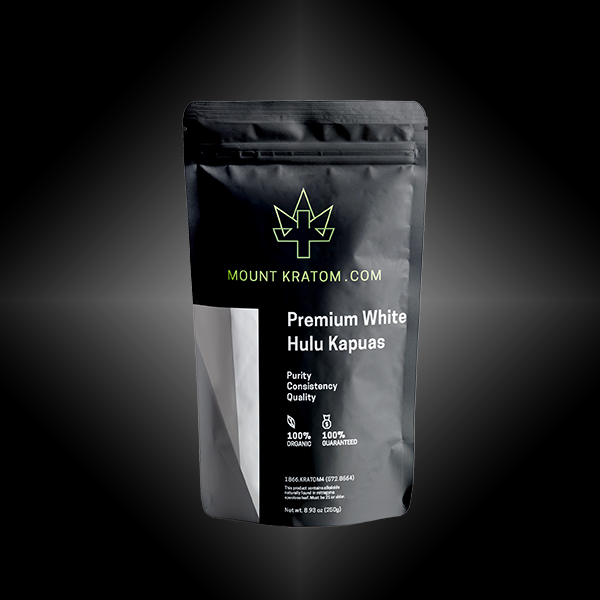 Premium White Hulu Kapuas Kratom Powder