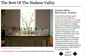 best of hudson valley, hudson wine merchants