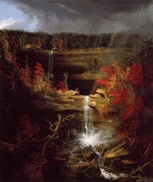 The Hudson River School, Thomas Cole, Kaaterskill Falls