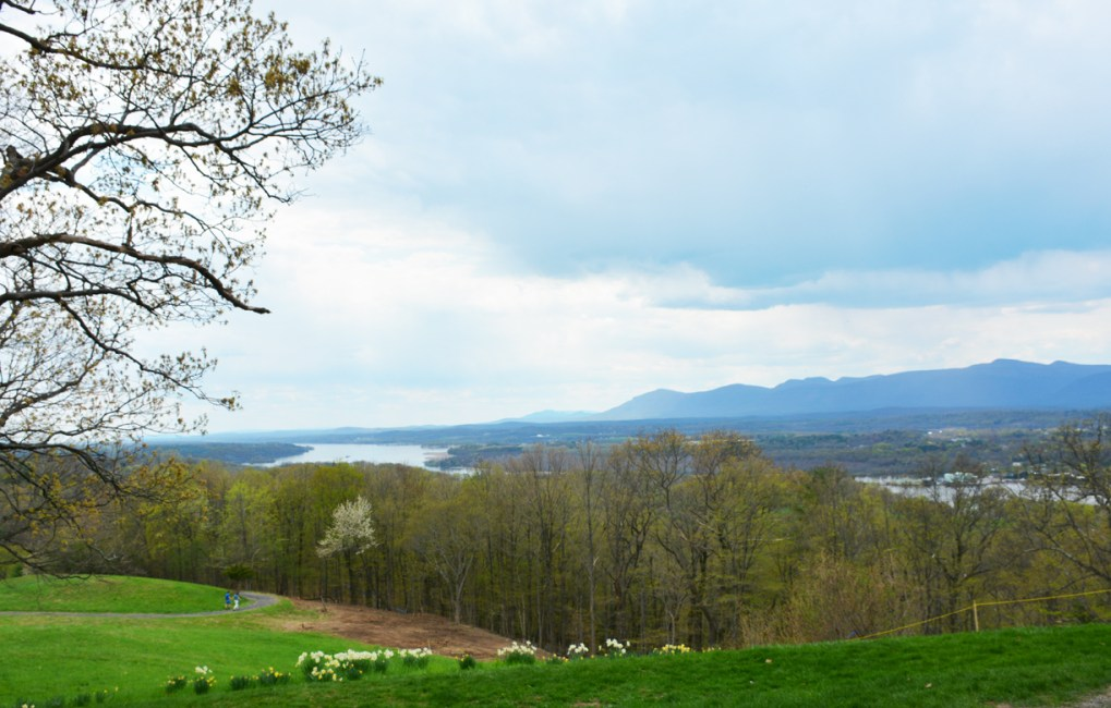 Olana State Historic Site, Frederick Church's estate, overlooking the Hudson River