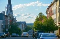 Hudson, NY's popular Warren Street thoroughfare