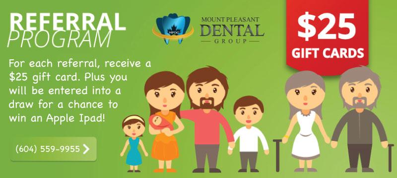 free gift card dentist