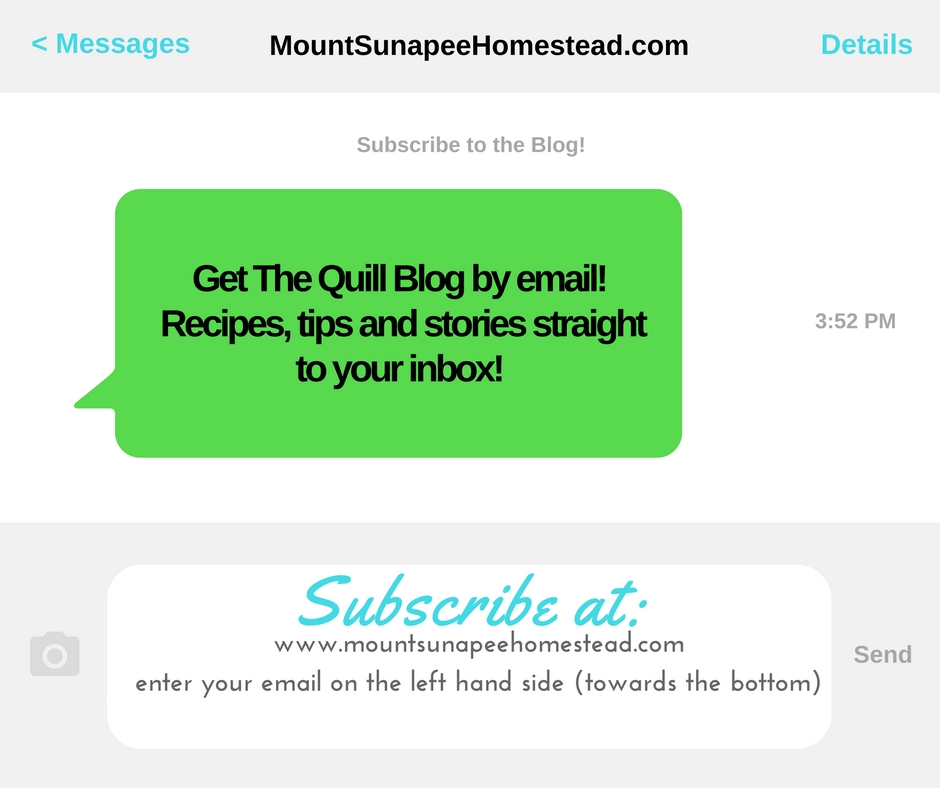 Subscribe to The Quill Blog!