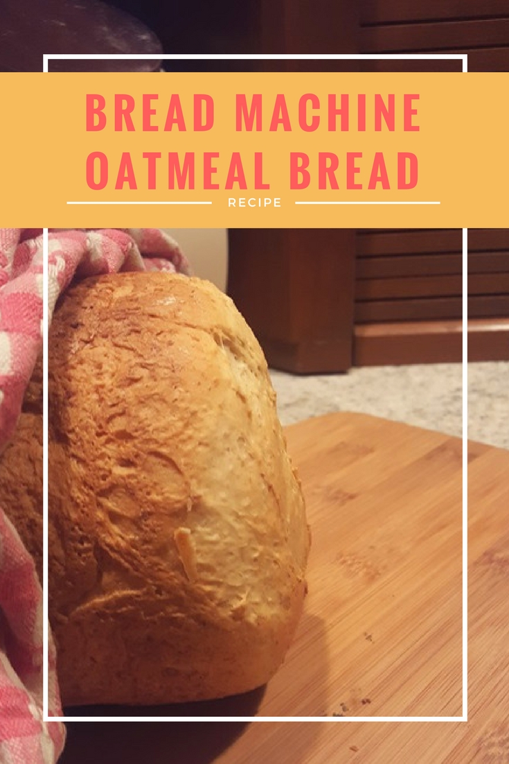 Best Honey Oatmeal Bread Machine Bread