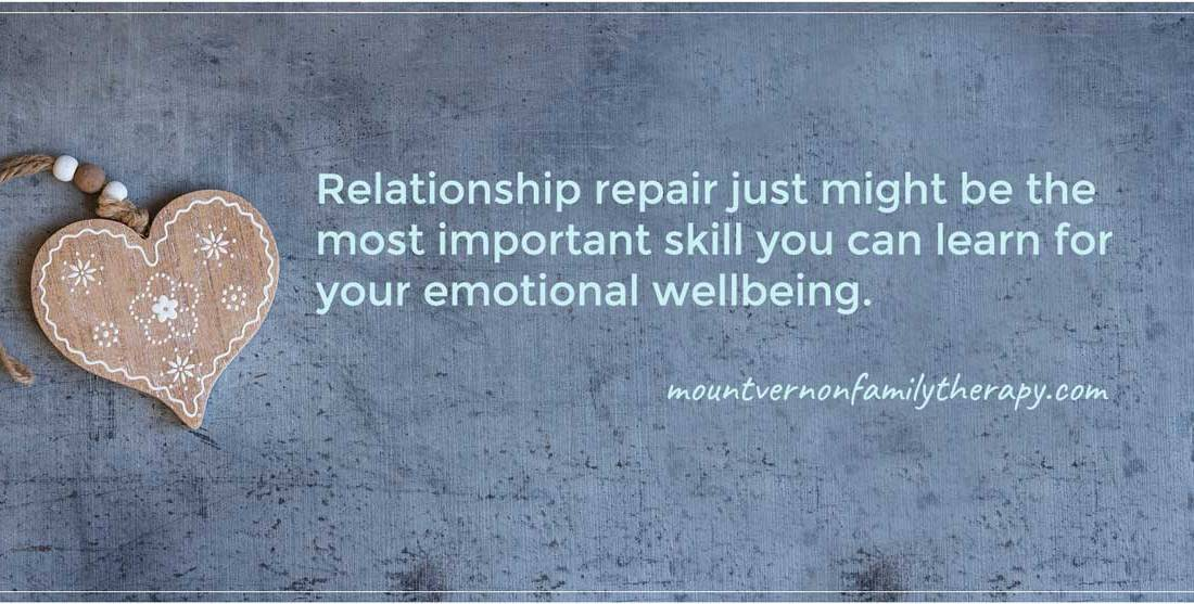 #Relationship repair just might be the most important skill you can learn for your wellbeing.