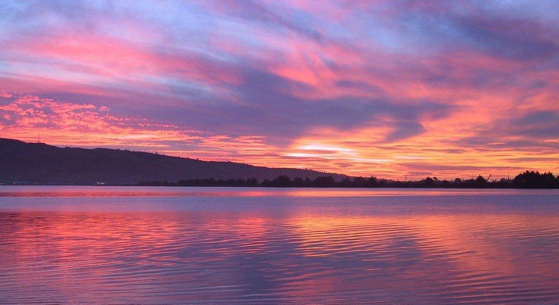 Mindfulness can take away all sense of time, like a beautiful sunset