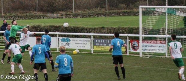 Liam Andrew Goal Mousehole vs Plymouth Marjon