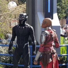 PICTORIAL: Black Panther character lands, Celebrate Gospel sings, Disney Home opens, and more!